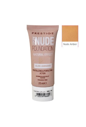 Prestige Cosmetics Skin Nude Foundation 04 Nude Amber Fondöten