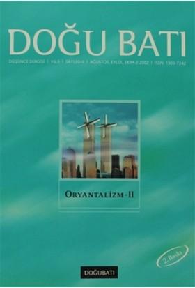 Doğu Batı Düşünce Dergisi Sayı: 20 Oryantalizm - 2