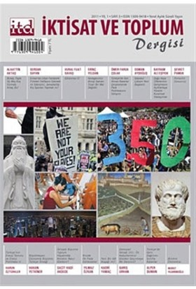 İktisat ve Toplum Dergisi Sayı: 3