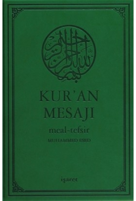 Kur'an Mesajı Meal-Tefsir (Orta Boy)