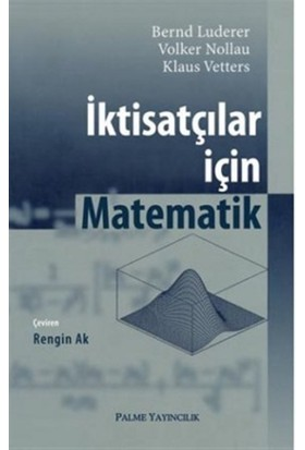 İktisatçılar için Matematik