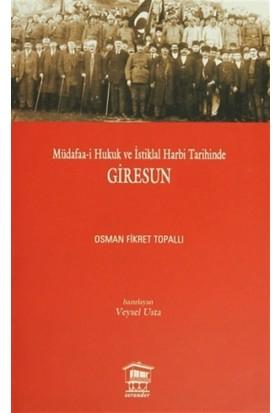 Müdafaa-i Hukuk ve İstiklal Harbi Tarihinde Giresun