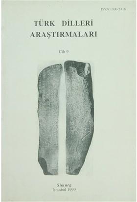 Türk Dilleri Araştırmaları Yıllığı 1999 Cilt: 9