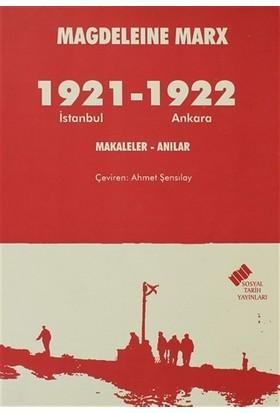 1921 İstanbul - 1922 Ankara
