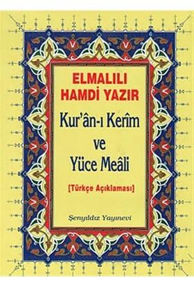 Kur'an-ı Kerim ve Yüce Meali (Cami Boy)