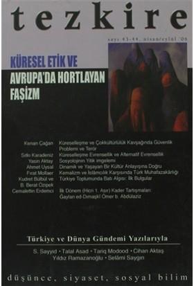 Tezkire Dergisi Sayı: 43 - 44