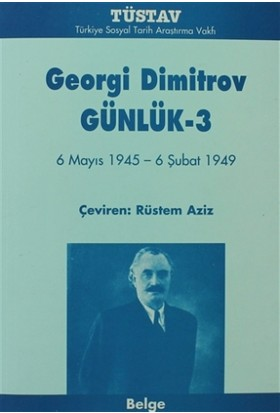 Georgi Dimitrov Günlük 3