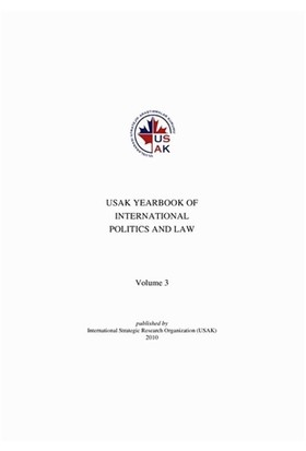 USAK Yearbook Of International Politics and Law: Volume 3