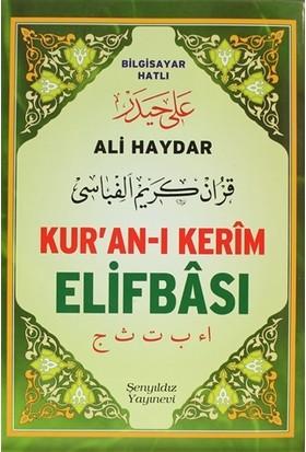 Kur'an-ı Kerim Elifbası (Orta Boy)
