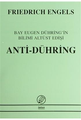 Anti-Dühring Bay Eugen Dühring'in Bilimi Altüst Edişi