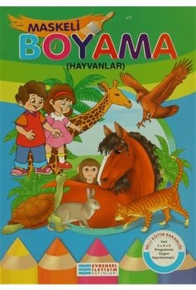 Maskeli Boyama Hayvanlar