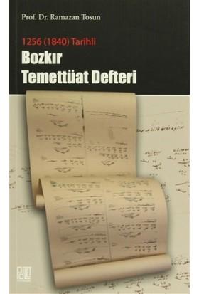 1256 (1840) Tarihli - Bozkır Temettüat Defteri