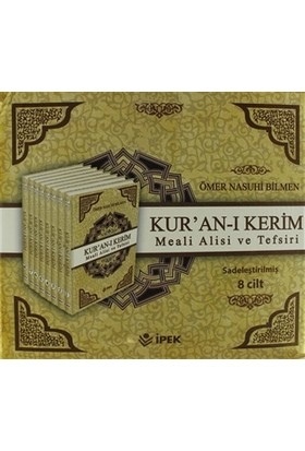 Kur'an-ı Kerim Meali Alisi ve Tefsiri (8 Cilt Takım)