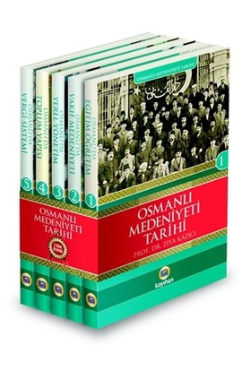 Osmanlı Medeniyeti Tarihi Seti (5 Kitap Takım)