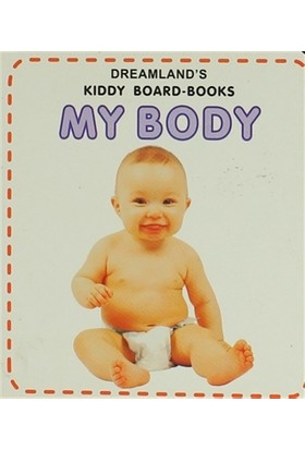 My Body Kiddy Board-Books