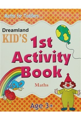 Dreamland Kid's 1 st Activity Book: Maths (3)
