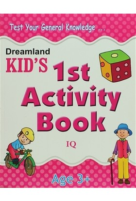 Dreamland Kid's 1 st Activity Book: IQ (3)