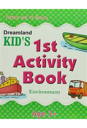 Dreamland Kid's 1 st Activity Book: Environment (3)
