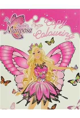 Barbie Mariposa: Copy Colouring