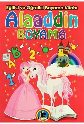 Alaaddin Boyama - Eğitici ve Öğretici Boyama Kitabı