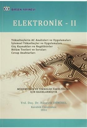 Elektronik 2 - Hüseyin Demirel