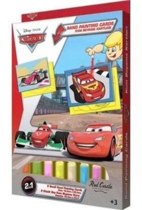Cars 2 Kum Boyama Kartları