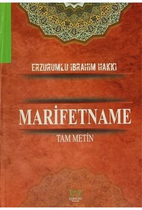 Marifetname (Şamua) - Erzurumlu İbrahim Hakkı Hazretleri