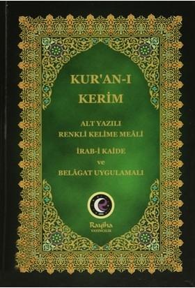 Kur'an-ı Kerim (Alt Yazılı Renkli Kelime Meali - Rahle Boy)
