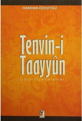 Tenvin-i Taayyun