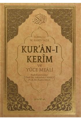 Kur'an-ı Kerim ve Yüce Meali Rahle Boy (Ayfa173) - Elmalılı Muhammed Hamdi Yazır