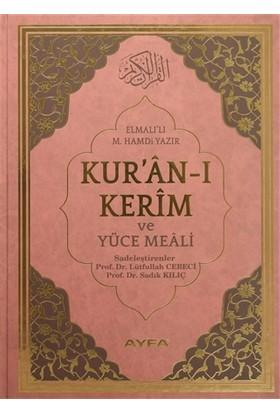 Kur'an-ı Kerim ve Yüce Meali Cami Boy (Ayfa174) - Elmalılı Muhammed Hamdi Yazır