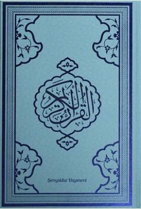 Kur'an-ı Kerim Bilgisayar Hattı (Orta Boy Mavi Baskı)