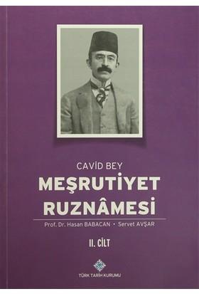 Meşrutiyet Ruznamesi Cavid Bey 2. Cilt