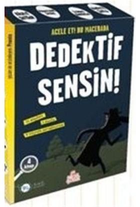 Dedektif Sensin (4 Kitap Takım) - Pronto