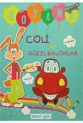 Coli ile Güzel Balonlar Boyama