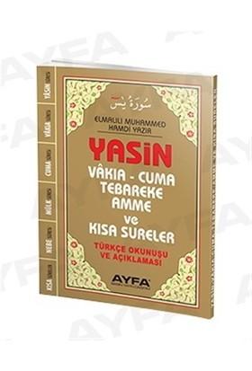 Çanta Boy Türkçeli Üçlü Yasin - Fihristli (Ayfa043F)