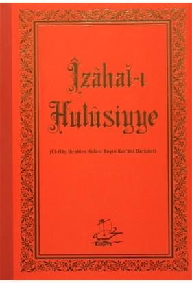 İzahat-ı Hulüsiyye