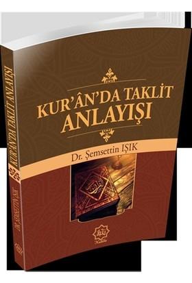 Kur'an'da Taklit Anlayışı