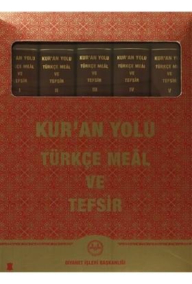 Kur'an Yolu Türkçe Meal ve Tefsir Deri Cilt (5 Cilt Takım) - Hayreddin Karaman