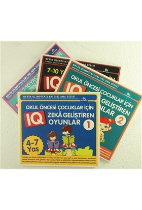 Çocuklar İçin Zeka Geliştiren Oyunlar (4 Kitap Takım)
