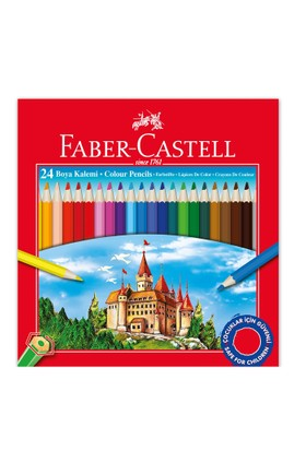 Faber Castell 24'Lü Kuru Boya