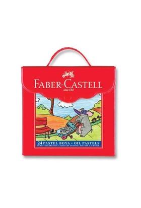 Faber Castell Çantalı 24'Lü Pastel Boya