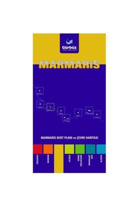Gürbüz Marmaris Kent Planı Ve Çevre Haritası 10 Lu Paket