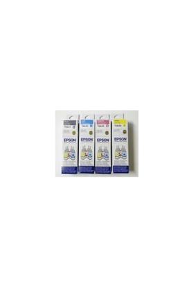 Epson L110, L200, L210, L300, L355, L550 4 Renk Mürekkep Seti
