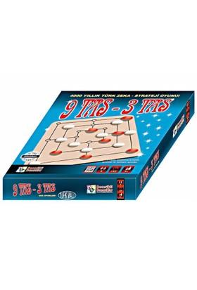 Becerikli Boncuklar 9 Taş - 3 Taş Zeka Oyunları