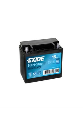 Exide EK151 12 Volt 15 Amper Start-Stop Akü