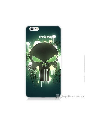 Teknomeg iPhone 6 Kapak Kılıf Punisher Baskılı Silikon