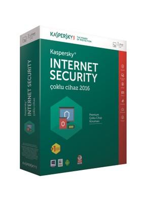 Kaspersky Internet Security Çoklu Cihaz 2016 4 Kullanıcı 1 Yıl