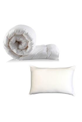 Alla Turca Tek Kişilik Silikon Yorgan+1 adet Yastık Set