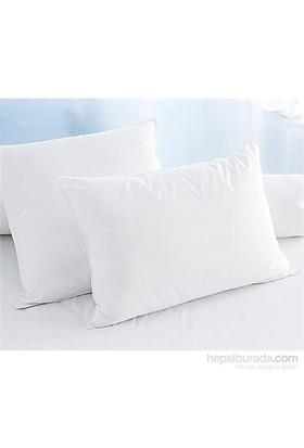 Eponj Home 2'Li Silikon Yastık 50X70 Düz Boya Beyaz